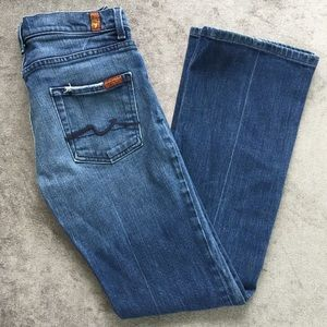 7 For All Mankind High Waist Bootcut Jeans Size 29